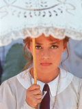 "Actress Jeanne Moreau Filming ""Viva Maria"""