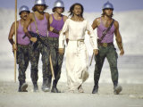 "Actor Ted Neeley with Others in Scene from Film ""Jesus Christ Superstar"""