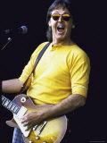 Musician Paul McCartney Performing