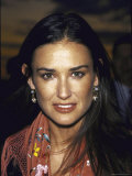 Actress Demi Moore at Talk Magazine Launch Party