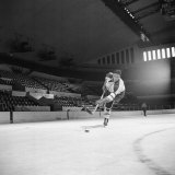 Hockey Great Jean Beliveau in Action