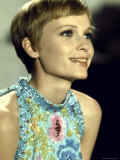 "Actress Mia Farrow During Filming of the Motion Picture ""A Dandy in Aspic"""