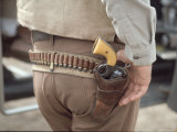 "Gun and Holster Belonging to Actor John Wayne During Filming of Western Movie ""The Undefeated"""