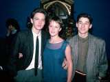 Actors Andrew McCarthy  Mary Stuart Masterson and Patrick Dempsey