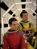 "Kier Dullea and Gary Lockwood in Publicity Still from Motion Picture ""2001: A Space Odyssey"""