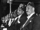 Patronly Shriners  Members of Brooklyn&#39;s Eureka Temple No 10