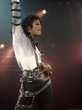 Singer Michael Jackson Performing