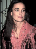 Actress Demi Moore at Talk Magazine Debut at Liberty Island