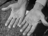 Close Up of Golfer Ben Hogan's Hands