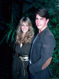 Actors Tom Cruise and Heather Locklear