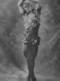 "Russian Ballet Dancer Vaslav Nijinsky Photographed in Title Role of ""Spectre de La Rose"""