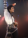 Pop Entertainer Michael Jackson Striking a Pose at Event