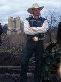 Singer Garth Brooks in Central Park
