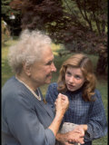 "Activist for the Disabled  Helen Keller  Meeting Actress Patty Duke in ""The Miracle Worker"""