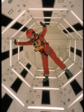 "Actor Keir Dullea Wearing Space Suit in Scene from Motion Picture ""2001: A Space Odyssey"""