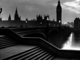 Houses of Parliament Seen Across Westminster Bridge at Dawn  Regarding Poet William Wordsworth