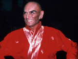 "Actor Yul Brynner in Costume and Makeup for Role in Broadway Revival of Musical ""The King and I"""