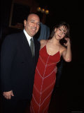 Record Executive Tommy Mottola and Wife  Singer Mariah Carey