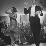 Winners of Contest Barbara Pettit and Dick Warren Dancing the Charleston at a University Party