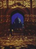 Taj Mahal  Tomb Built at Agra  India by Shah Jahan for His Wife Mumtaz Mahal