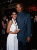 Actress Halle Berry and Husband  Professional Baseball Player David Justice