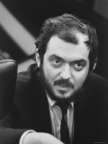 "Director  Stanley Kubrick  During Filming of His Movie ""2001: A Space Odyssey"""