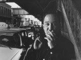 Poet Langston Hughes in Harlem