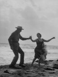 Rumba Danced by Director George Abbott and Dance Teacher Lilyan Martin