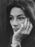 Actress Anouk Aimee