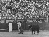 Matador Antonio Ordonez During Bullfight