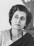 Mrs Indira Gandhi