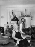 Painter Alice Neel in Her Studio