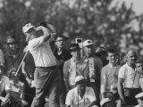 Golfer Jack Nicklaus During National Open Tournament