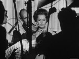 Actress Tippi Hedren Testing for Hitchcock&#39;s New Movie  &quot;Marnie &quot; at Universal Studios