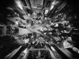 Bird's Eye View of Helena Rubinstein's Cocktail Party