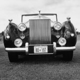 Vintage Rolls Royce Taken at a Montreal Meet of the Rolls Royce Owners Club in August  1958