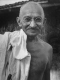 Leader of India  Mohandas Gandhi