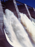 Shipshaw Dam Generates Hydroelectric Power for Canadian Aluminum Industry with Saguenay River