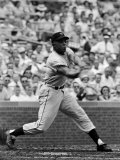New York Giants Centerfielder Willie Mays at Bat