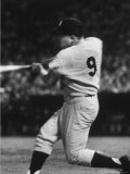 NY Yankees Right Fielder Roger Maris Hitting His 58th Home Run in Game Against Detroit Tigers