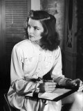 Katharine Hepburn in Early Portrait