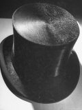 Silk Top Hat Showing Properties of Smooth and Rough Nap Which Are Principles Used in Camouflage