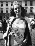 Miss America Winner Bess Myerson