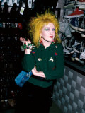 Singer Cyndi Lauper