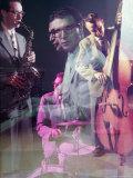 Multiple Exposure of the Dave Brubeck Quartet