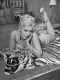 Actress Kim Novak in Title Role Performing Hoochie-Coochie Dance in the Movie &quot;Jeanne Eagels&quot;