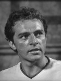 Actor Richard Burton as a Roman Tribune in the Movie &quot;The Robe&quot;