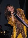 Musician Steven Tyler Performing