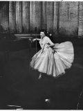Actress and Singer Judy Garland Twirling Into a Dance Step During a Performance at the Palladium