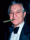 Comedian Danny Thomas  Smoking Cigar